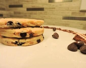Belgium Double Chocolate Shortbread Cookies (pack of 8)