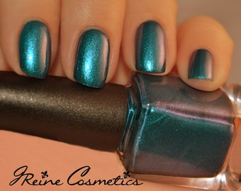 Tales Of Treme - Blue Green Red Multichrome Sparkle Nail Polish