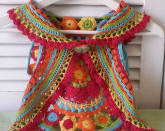 Colorful cardigan for girls
