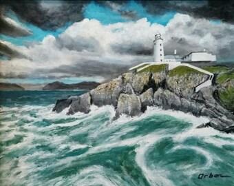 Lighthouse on High Cliffs