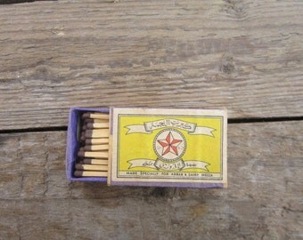 Rare Soviet matches USSR matchbox collector collectable soviet wooden matches box safety matches vintage matchbox Abbar & zainy mecca