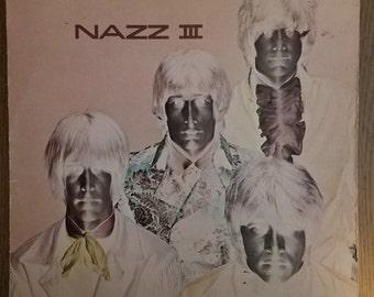 NAZZ III 3 Rare Garage Psych Lp Todd Rundgren original SGC 5004