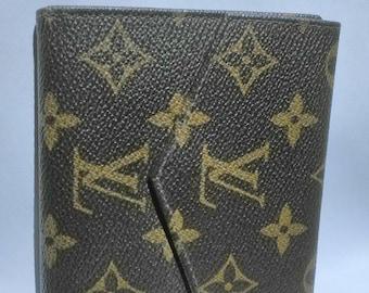 Louis Vuitton Wallet, bi-fold brown monogram. 100% authentic