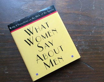 Small Gift Book | What Women Say About Men