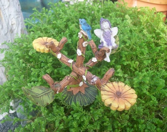 Fairy Merry-Go-Round, Fairy Garden Accessory, Garden Decor, Miniature Gardening