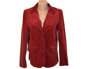 Vintage Hammerschmid ® women blazer jacket red Bordeaux