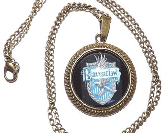 Ravenclaw House Necklace or Keychain