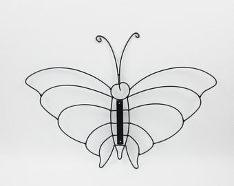 Wrought Iron Butterfly Wall Art