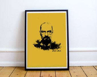 Art print Breaking Bad A4 poster