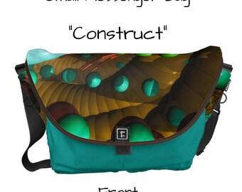 "Messenger Bag - ""Construct"" - Great gift item!"