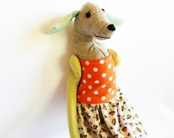 Labrador Dog - Heirloom Labrador Doll