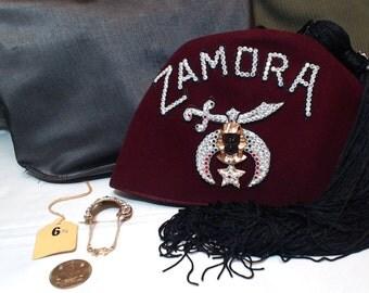 Vintage Shriners Hat - Zamora from Birmingham, AL
