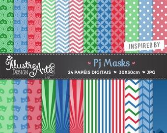 Digital Paper PJ Masks