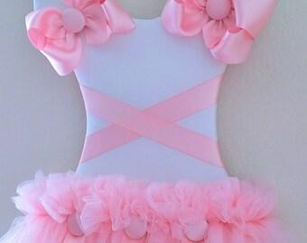 Pretty N Pink Hair Bow Holder / Wall Decor