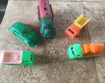 Vintage plastic toy lot some made in the usa