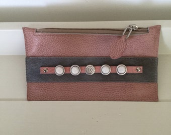 Leather handmade purse/pouch