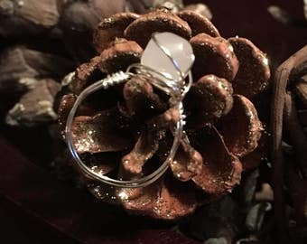 Wire wrapped ring.  Wire wrapped jewelry.  Ring. Jewelry. Mother's Day gift