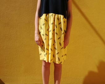 Black and yellow fancy dress