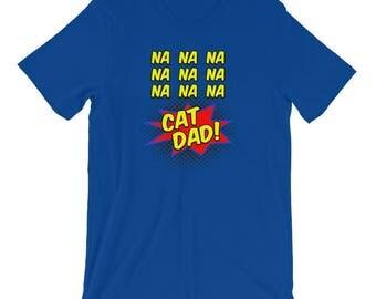 Cat Dad Shirt, Funny Cat Shirt, Cat Shirt for Men, Men's Cat Shirt, Comic Cat Dad Shirt, Cat Father's Day Shirt, Cat T Shirt, Cat Tshirt