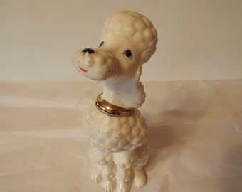Poodle Figurine made by Norcrest