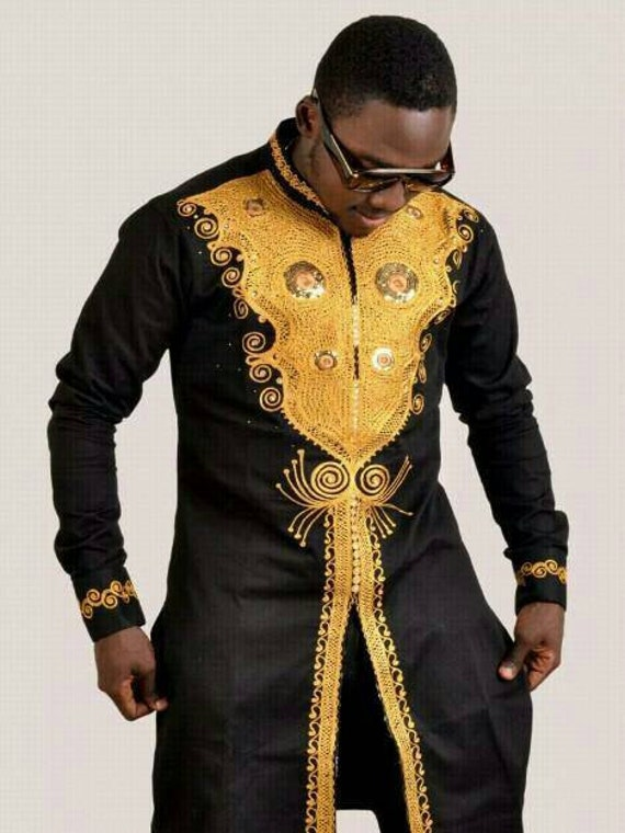 african men 39 s clothing dashikiwedding suite dashiki. Black Bedroom Furniture Sets. Home Design Ideas