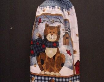Kitchen Towel Cat