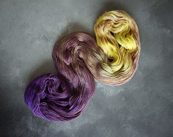 A Field of Crocuses in Queen Bee 4ply