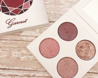 Pressed eyeshadow palette - January Birthstone - Garnet
