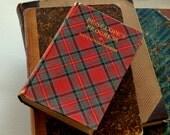 "Tartan Covered Vintage Book ""Penelope's Progress"" 1897"