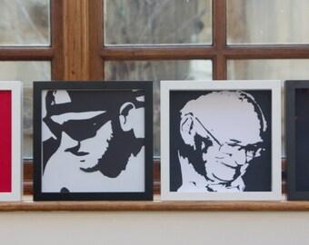 Personalised  vector portrait