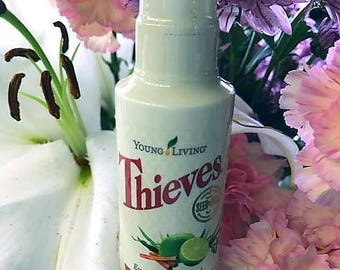 SUMMER SALE ~ Thieves Fruit and Veggie Spray by Young Living 2oz ~ Free Domestic Shipping