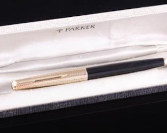 Parker Pen Co Consort vintage fountain pen 14k gold nib c1960s