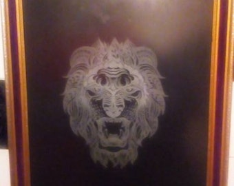 hand made glass engravings