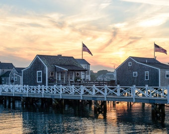 "Photo Print - ""Nantucket Sunset"""