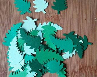 Fern leaves x 32 hand made