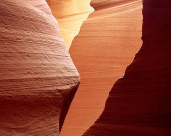 Antelope Canyon 4 matted fine art archival print