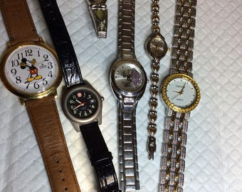 Six Vintage Watches
