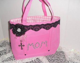 Mom Tote Bag, Mothers Day Gift, Birthday Gift Bag, Gift Bag, Purse
