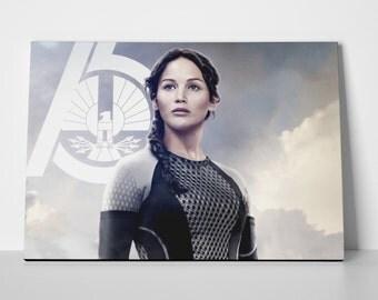 Jennifer Lawrence Katniss Limited Edition 24x36 Poster | Jennifer Lawrence Katniss Canvas