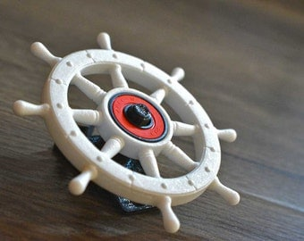 Pirate Ships Wheel Fidget hand spinner