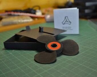 Boat Propeller Fidget hand spinner - Black