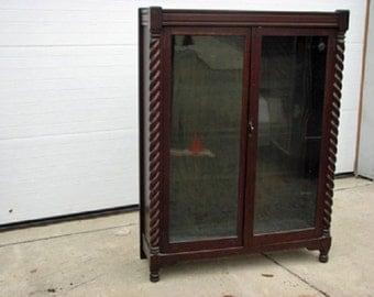 Quartered Sawn Oak Bookcase