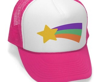 MABEL PINES STAR sweater - Trucker hat - Dipper Pines