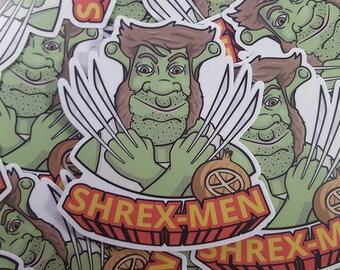 Shrex-Men Shrek/Wolverine