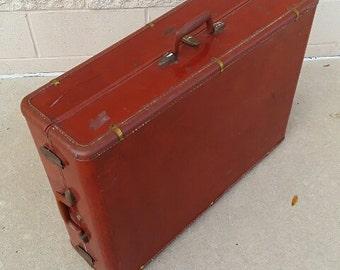 Vintage Samsonite Suitcase Wardrobe Trunk Large