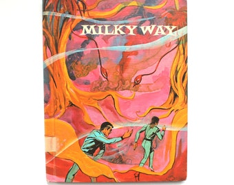 1970 Milky Way - the Adventures of Captain Speevac and his Crew Vintage Children's Book