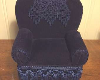 Pincushion Club Chair