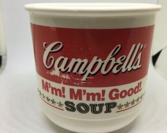 Vintage Plastic Campbell Soup Mug