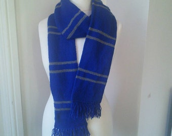 Handmade Harry Potter Ravenclaw Scarf - all house colours available