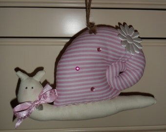 Hanging Snail inspired by Tilda